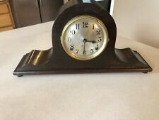 Sesions Supreme Antique Mantel Cclock wood 8-day chime