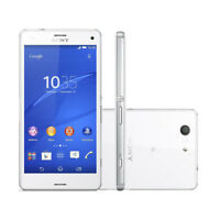Unlocked MOVIL 4.6'' Sony Ericssion XPERIA Z3 Compact D5803 16GB LTE GPS- Blanco