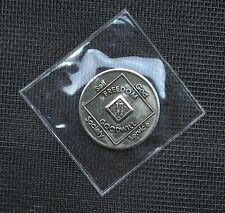 Narcotics Anonymous Bronze Medallion 6 Year Wso 1991 Na Token Coin Chip Recovery