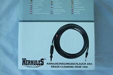 Herkules Kanalreinigungsschlauch 10m für HPC 110 ES/HPC 140 CT/HPC160PE
