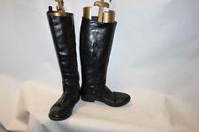 Ladies Black Atmosphere Boots Size 36 UK 3