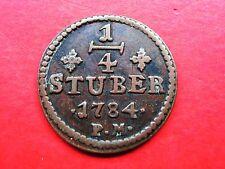 Vorzügliche Einzelstück altdeutsche Kleinmünzen & Teilstücke aus Kupfer