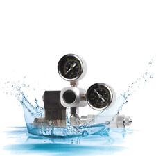 Aquarium Fish Tank 2 Gauge CO2 Pressure Regulator Bubble Counter Solenoid Valve