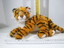 "Ty Classic Pinstripes Tiger Beanie Babies Large Plush 10-12"" Tags 2005"