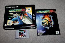 Nintendo 64-Lylat Wars-N64-Caja Grande + Manual-MBC-Sellado de un lado
