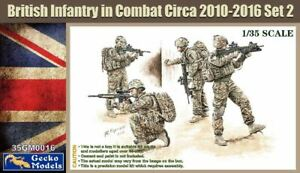 1/35 GECKO MODELS BRITISH INFANTRY IN COMBAT CIRCA 2010-2016 SET 2 35GM0016