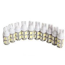 10PCS T10 9 SMD 5050 LED White Light Car Tail Lamp Bulb Bright 152 194 168 W5W