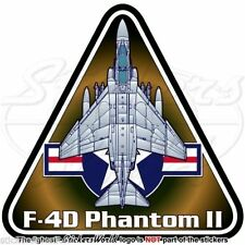 F-4 PHANTOM II USAF McDonnell Douglas F-4D United States AirForce Decal-Sticker