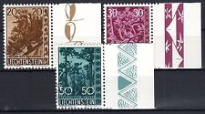 Liechtenstein - 1960 Trees & bushes - Mi. 399-01 VFU