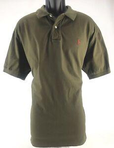 Polo by Ralph Lauren Men's Performance Golf Polo Dark Green XL 100% Cotton