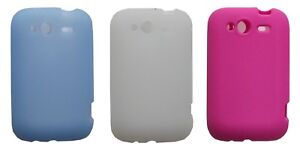 Plain Silicone Case for HTC Wildfire S G13