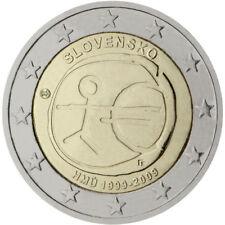 2 EUROS ESLOVAQUIA 2009. MONEDA CONMEMORATIVA - EMU . S-C