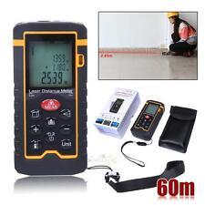 Handheld Digital LCD Laser Distance Meter Range Finder Measure Diastimeter 60m