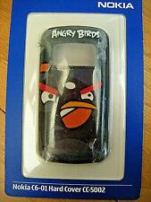 Nokia CC-5002 Angry Birds hard case C6-01 - black bird