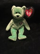 Ty Beanie Baby Very Rare Kicks Bear orig. collectible with Tag Errors.1998