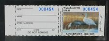 CKStamps: US State Duck Stamps Missouri Scott#13a Mint NH Governor's Edition $50