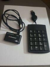 External USB Numeric Number Keypad & Memory Card Reader Writer