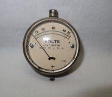 Vintage Pocket Hoyt Voltage Meter 50 Volts Steampunk