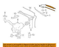 Chevrolet GM OEM 05-13 Corvette-Wiper Blade 10306887