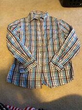Burberry London  Button Down PLAID Shirt Long Sleeve Size: Large