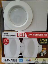 3 - Feit Electric LED Retrofit Kit Light 1250 Lumens Dimmable 988162