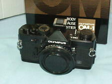 OLYMPUS OM-1N BLACK CAMERA BODY NEW IN BOX EXTREMELY RARE IN SUCH CONDITION