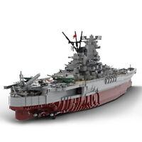 MOC-37260 Building Blocks Set for  IJN Yamato 1:200 Model 8717 PCS Bricks Toys