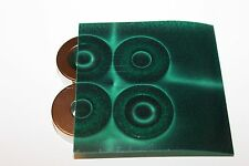 Magnetic Field Viewer Film 152 mm x 101 mm (6in x 4in) Genuine USA 'Green film'