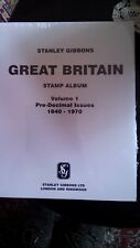 Stamp Album. GB suppliment. Pages. Stanley Gibbons