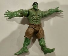 """incredible hulk with hand clap action feature figure 6"""" tall marvel"""