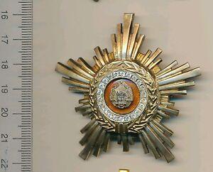 ROMANIAN medal ROMANIA Communist Order of the Star RPR 3rd Class COLD WAR AWARD