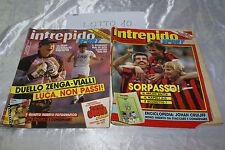 Rivista sportiva INTREPIDO fumetto anno LV nr 12 1989 LIV nr 19 1988 - LOT 10