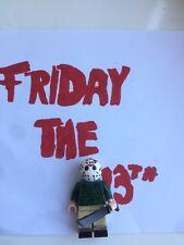Custom Lego Friday The 13th Jason Vorhees Minifigure