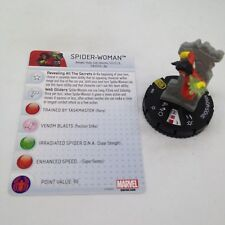 Heroclix Nick Fury, Agent of SHIELD set Spider-Woman #055 Super Rare fig w/card!