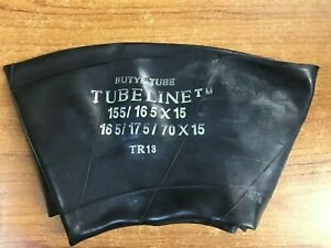 155 / 165 x 15 INCH. MG TRIUMPH CLASSIC CAR INNER TUBE BUTYL