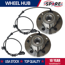 2 For 2002 2003 2004 2005 Dodge Ram 1500 Front Wheel Bearing Hub Assy with Abs