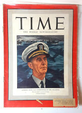 Jun 2, 1941 TIME Magazine- US Admiral King on Cover-News/Photos/Ad
