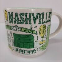 Starbucks Nashville Tennessee Been There Coffee Cup Mug 2018 Stackable 14 Fl Oz