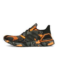 adidas Ultra Boost 20 Black Black Signal Orange Herren Laufschuhe Sneaker