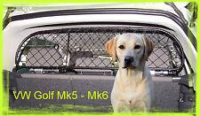 Rejilla Separador proteccion para Volkswagen Golf Mk5 y Mk6 para perros, maletas