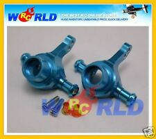 ALLOY FRONT KNUCKLE ARM UPRIGHT BLUE FOR TAMIYA 1/10 TT01 TT-01