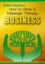 How To Grow Your Massage Therapy Business Marketing Video DVD - Ralph Stephens