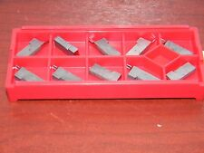 Circle Machine CMFR-2-031-100 C25 59014 Carbide Grooving Inserts, QTY 10
