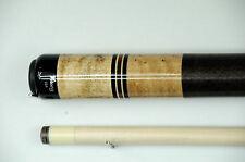 Viking Pool Cue, Billiards,Custom Maple, Ebony / Cocobolo Rings/ Linen Cuestick
