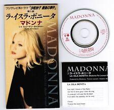 "MADONNA La Isla Bonita /Human Nature JAPAN 3""CD w/Insert WPDR-3027 UNSNAPPED NM"