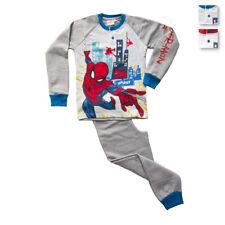 Pigiama bambino Topolino Spiderman Marvel in Felpa DBW1892 V182
