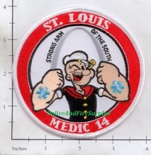 Missouri - St Louis Medic 14 MO Fire Dept Patch
