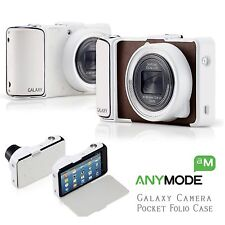 BUY 1 GET 1 FREE Anymode SAMSUNG Galaxy Camera EK-GC100 Pocket Folio Case Brown