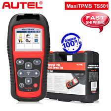 Autel MaxiTPMS TS501 TPMS Sensor Activation Tool Code Reader Program ECU Key FOB