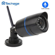 Techage 720P HD WiFi Bullet IP Camera 1.0MP Outdoor Wireless Home Security CCTV
